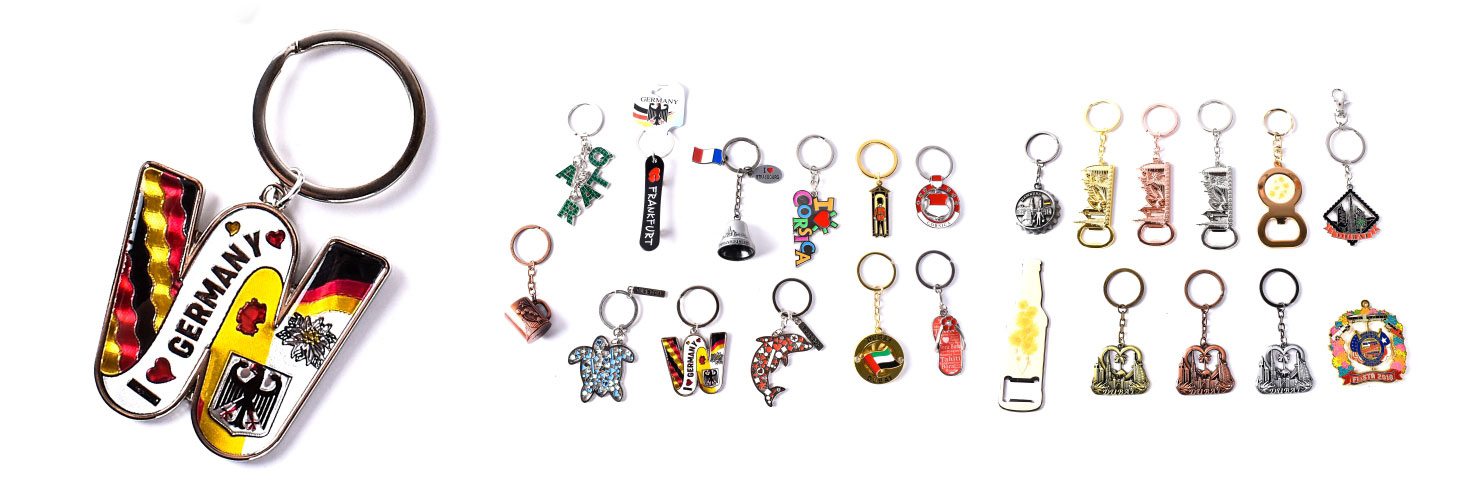Keychains for your souvenirs
